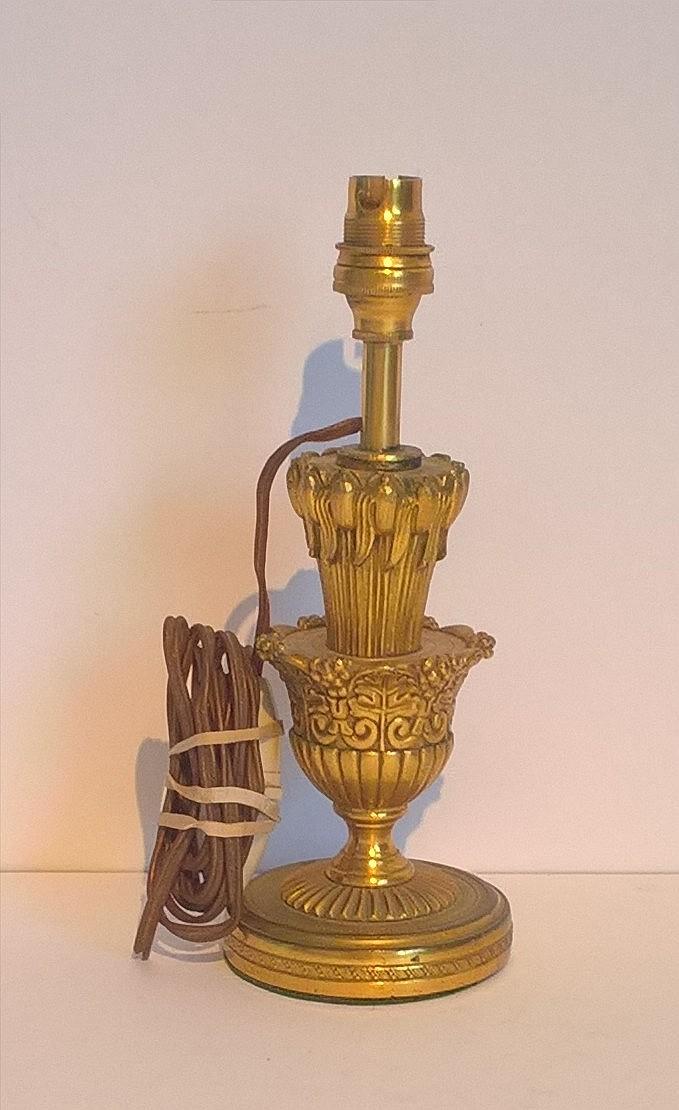 Early 20th Century Ormolu Table Lamp, 20cm height