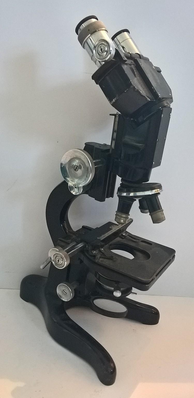 Fine Binocular Microscope W.WATSON & SONS Ltd Lond