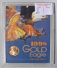 1998 Gold Eagle $10- Gold Piece