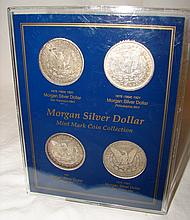 Morgan Silver Dollar Mint Mark Coin Collection