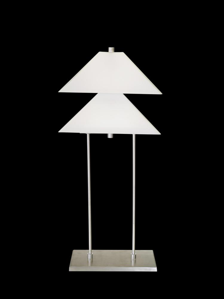 DOUBLE BOW TIE TABLE LAMP