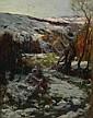 Arthur A Friedenson (1872-1955): Moorland Valley, Arthur Friedenson, Click for value