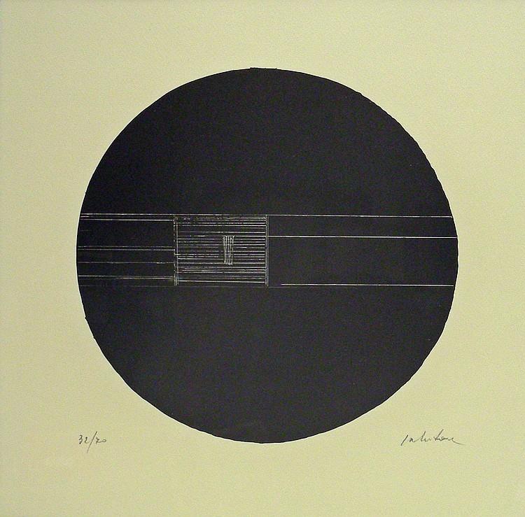 After Giuseppe Salvatori (1955-): Circles, pair