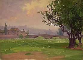 John Dobby Walker (1866-1925): Landscape and other
