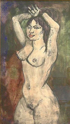 Sydney D' Horne Shepherd (1909-1993): Nude