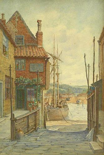 Elias Mollineaux Bancroft (1846 -1924): 'Whitby