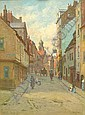 Elias Mollineaux Bancroft (1846 -1924): Corner of, Elias Mollineaux Bancroft, Click for value