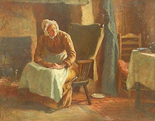 Lionel Townsend Crawshaw (1864-1949): Alerted by