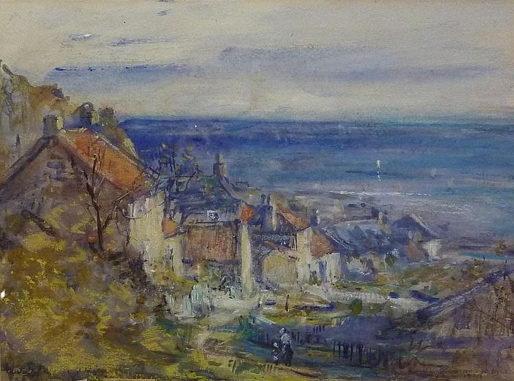 Rowland Henry Hill (1873-1952): Runswick Bay,