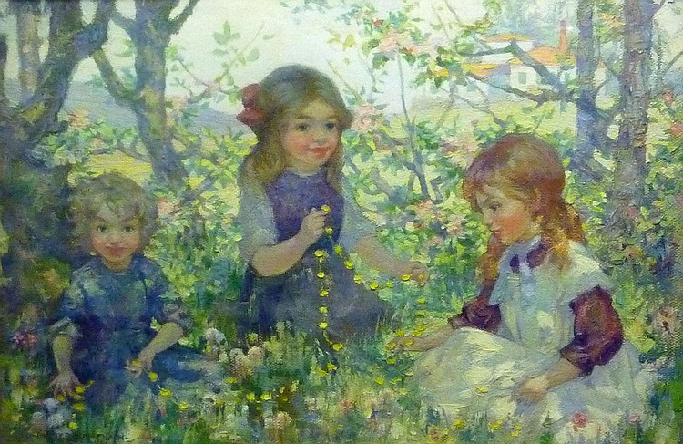 Daniel Pender Davidson (1885-1933): 'The Buttercup