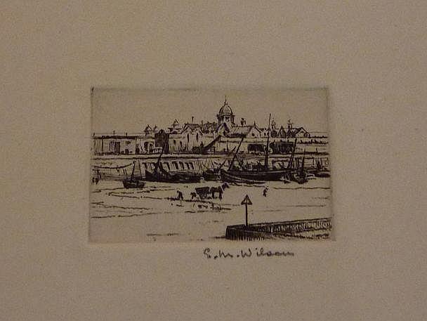 Eli Marsden Wilson (1877-): 'Low-tide Margate