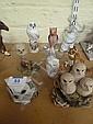 Herend, Coalport and other owls