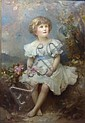 Edward Hughes (1832-1908): Full length portrait of, Edward (1832) Hughes, Click for value