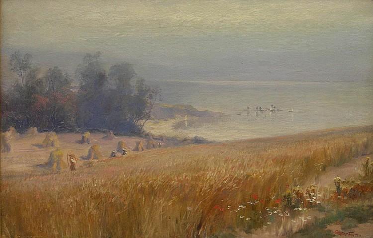 William Gilbert Foster (1855-1906): Harvest Fields