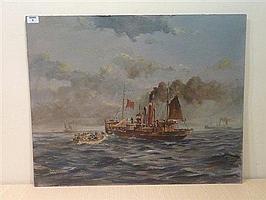 Colin Verity (1924-2011): Hull Steam Trawler H99