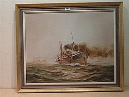 Colin Verity (1924-2011): Hull Steam Trawler H97