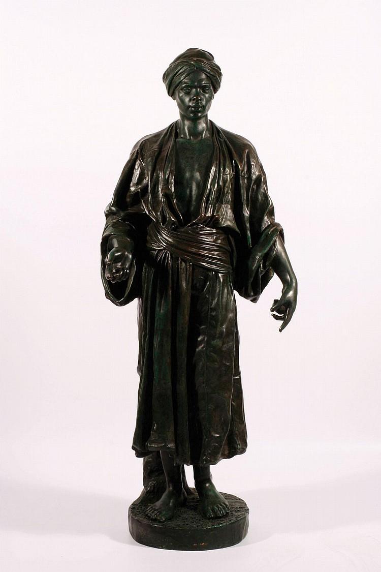 CHARLES MASSE (1855-1913) A bronze Orientalist