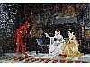 ANDREA MARCHISIO (1850-1927) A genre scene of a