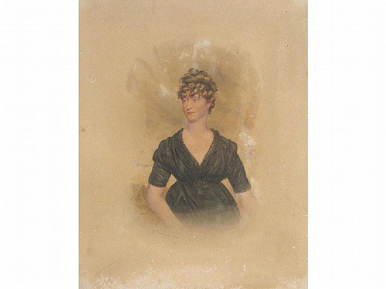 J... CARPENTER A portrait of a lady, signed and