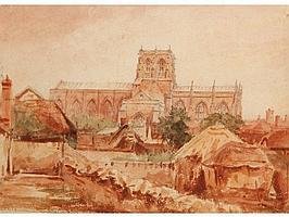 ATTRIBUTED TO THE REV JOHN LOUIS PETIT (1801-1868)