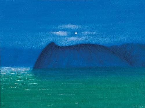 Lois McIvor Nocturne II Oil on canvas Signed,