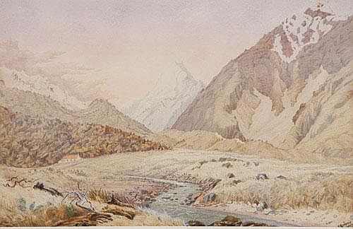 Christopher Aubrey The First Hermitage, Mt Cook