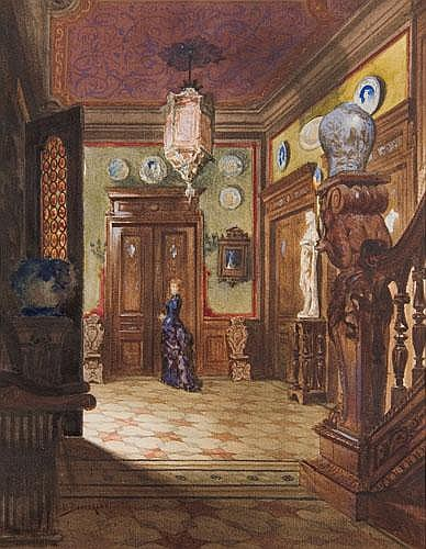 Victor Bachereau-Reverchon (1842 - 1885) French