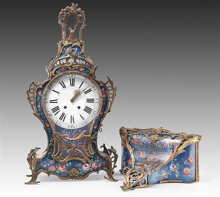 Cartel Neuchâtelois dépoque Louis XV Cartel et son cul de