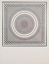 """SANZ FRAILE, EDUARDO (1928). """"Sol"""". Serigrafía sobre papel. Firmado y fechado (1970-78) en el ángulo inferior derecho. Titulado (Sol) y numerado (59/150) en el ángulo inferior izquierdo. 64,5 x 49,5 cm"""