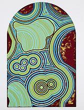 """SANZ FRAILE, EDUARDO (1928). """"Agata"""". Serigrafía sobre papel. Firmada y fechada (1974-78). Numerada (59/150) en el ángulo inferior izquierdo. 64,5 x 49,5 cm"""