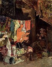 Enrique Miralles Darmanin. Old woman seller