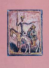 Pedro Flores. Quijote y Sancho