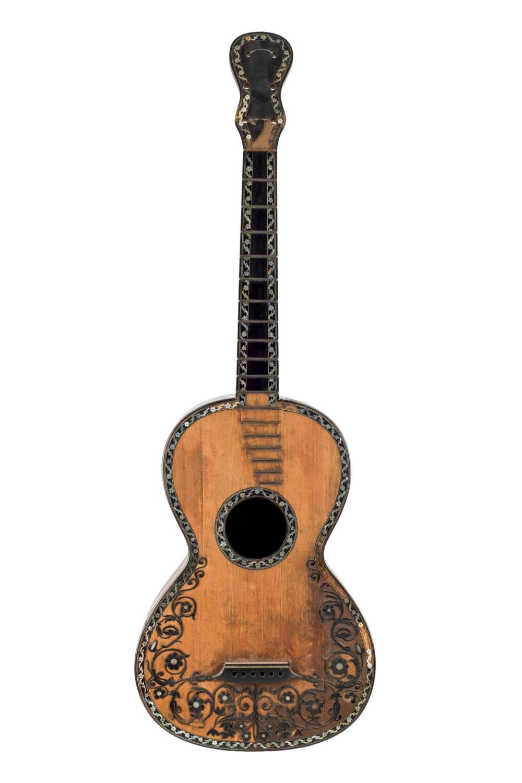 A Neapolitian guitar by Gennaro Fabricatore, 1829