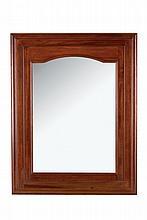 A Walnut Mirror