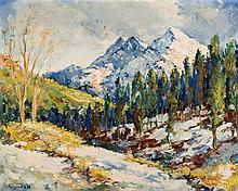 Grunwald Alsge Esteban. Mountain Landscape