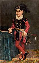 Ramón Alcántara. Young prince