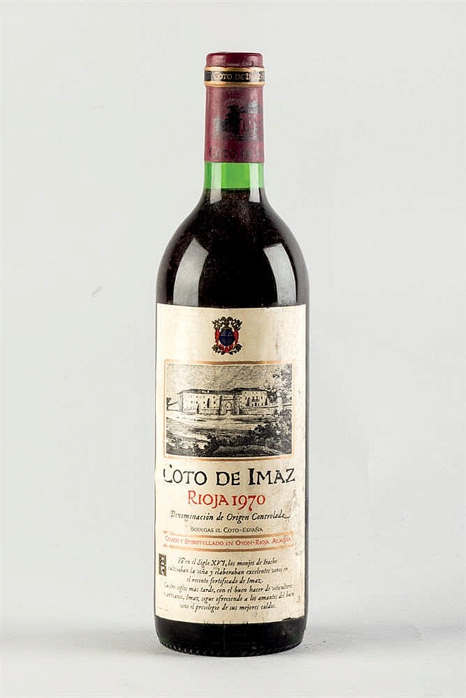 12 Bottles Rioja Coto de Imaz 1970
