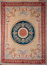 A Spanish wool rug