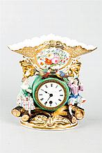A French Porcelain Clock, c. 1860