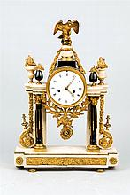 A French Empire style mantel clock. 19th.C