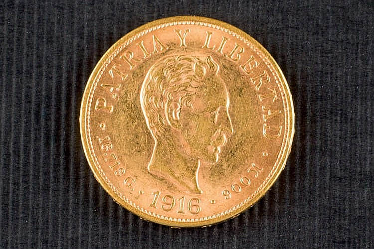 10 cuban pesos gold coin 1916
