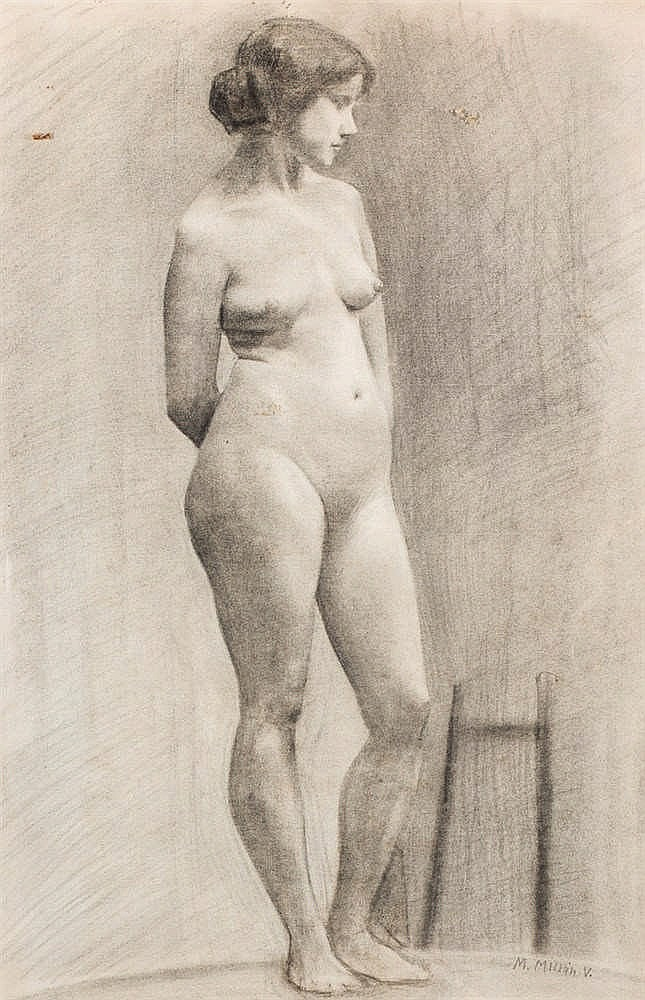 Manuel Ventura Millán. Nude feminine