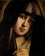 Spanish School, 17th C. Our Lady of Sorrows