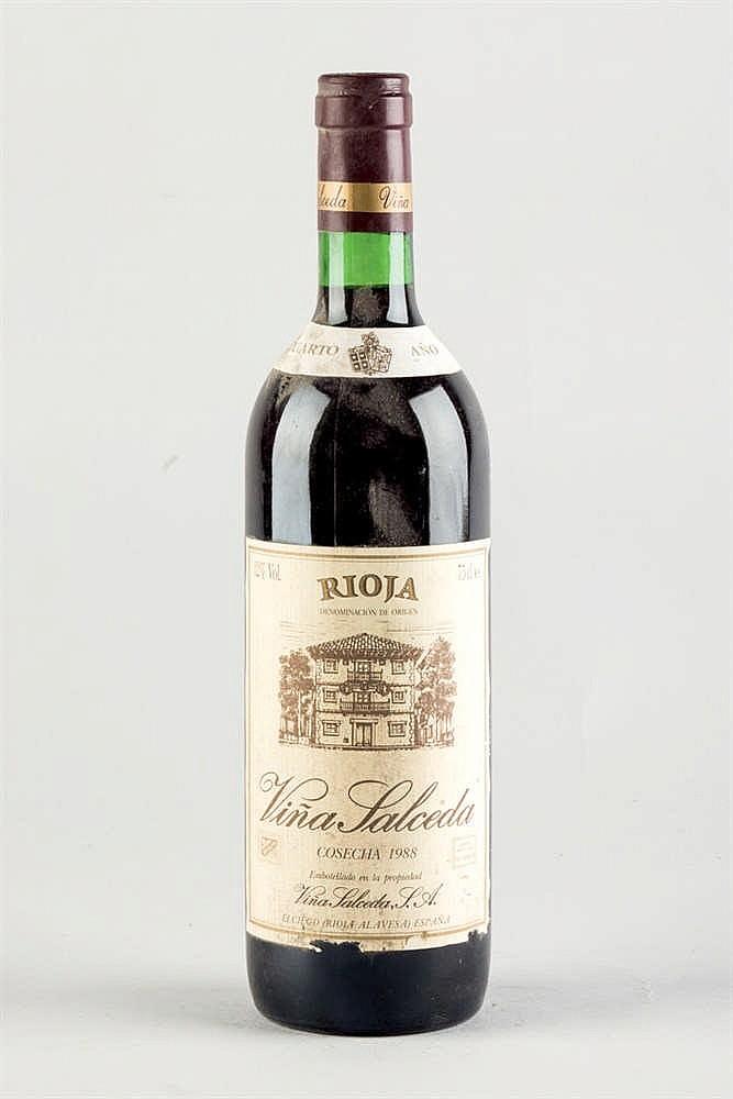 12 bottles Rioja Viña Salceda 1988