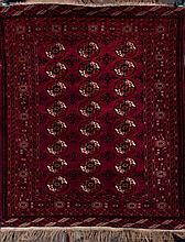 A Bukhara Wool Rug