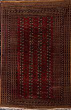 A Bukhara Style Wool Rug
