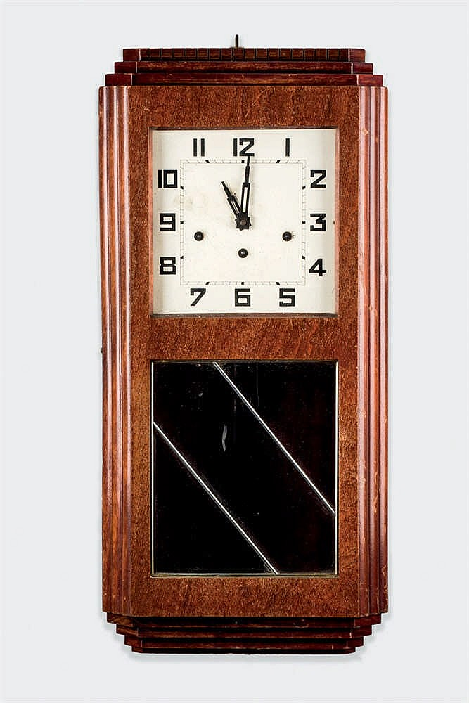 An Art Dec Wall Clock