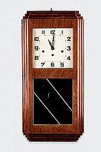 An Art Decó wall clock
