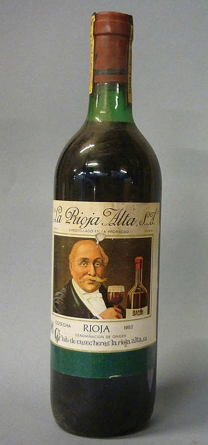 12 bottles Rioja Alta Club de Cosecheros 1982