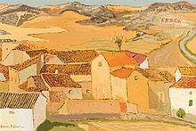 Amador Pérez Calvet. Yellow house II